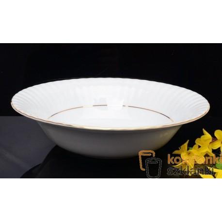 Salaterka okrągła 26 cm Iwona B014 Złota Linia Chodzież