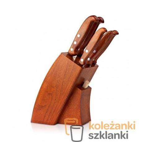 Zestaw noży kuchennych Gerpol NSB5  - 5 szt. w bloku