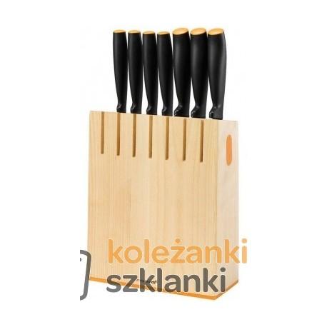 Zestaw noży kuchennych Fiskars Funcional Form 1018781 - 7 szt. w bloku
