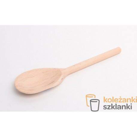Łyżka szwedzka drewniana 10'' 25 cm AAA