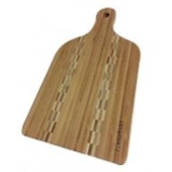 Deska kuchenna bambusowa z rączką 38 cm WAK
