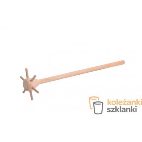 Mątewka drewniana góralska mała średnia 20 cm AAA