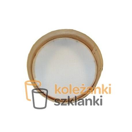 Sito sitko drewniane do mąki rzeszoto 23 cm KOL