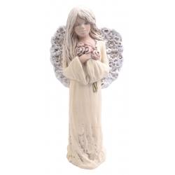 Figurka anioł gipsowy 32 cm