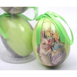 Jajka styropianowe w tubie 9 cm - 4 szt