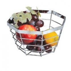 Koszyk na owoce nierdzewny mix KINGHOFF  KH4115 KH4118