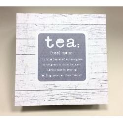 Pudełko na herbatę - 24*24*8 cm