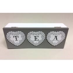Pudełko na herbatę 5x20x6cm