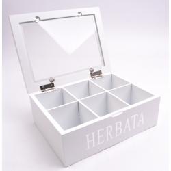 Pudełko na herbatę MSW23HW