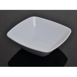 Salaterka kwadratowa biała 000e Lubiana Victoria 13 cm (2714)