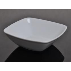 Salaterka kwadratowa biała 000e Lubiana Victoria 18 cm (2718)