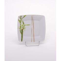 Talerz płytki deserowy Bambus 3394 Lubiana Victoria 19 cm