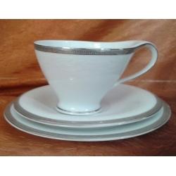 Komplet do herbaty kawy na 6 osób Antonio Platin 18 el. (0790)
