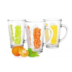 Kubek szklany Iwo owoce mix 300 ml