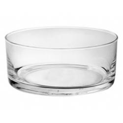 Salaterka szklana okrągła prosta 20 cm EDWANEX 08-065/20
