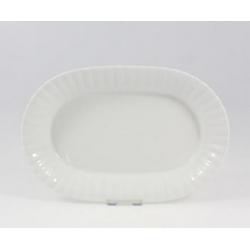 Salaterka owalna biała 24 cm Iwona Chodzież