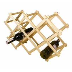 Stojak na wino składany