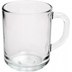 Kubek szklany z uchem prosty 250 ml