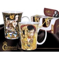 Komplet 2 szt kubków The Kiss POCAŁUNEK Gustav Klimt 532-1303