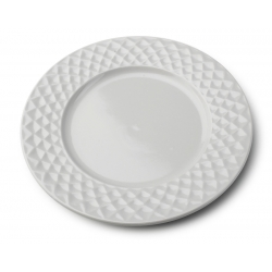 Diamond Grey talerz płytki 26,5 cm