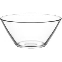 Salaterka szklana miska VEGA 22 cm / 6 cm LAV