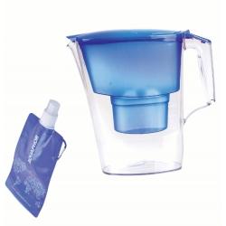 Aquaphor dzbanek Time 2,5 l. niebieski + wkład B100-25 + butelka