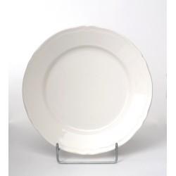 Talerz deser Castel kremowy 21 cm Karolina
