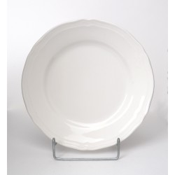 Talerz deser Castel kremowy 19 cm Karolina