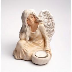 Figurka anioł gipsowy 27cm