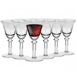 Krosno komplet kieliszków do czerwonego wina 6 szt.