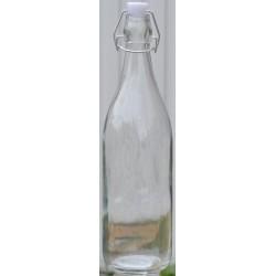KOKO szklana butelka z klipsem poj. 1000ml JC0175A