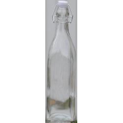 KOKO kwadratowa butelka z klipsem 500ml