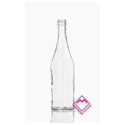 KOKO szklana butelka z korkiem na wino 750ml