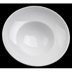 Lubiana Kaszub/Hel 000e talerz głęboki do pasty biały 26cm (0235)