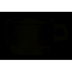 Lubiana Kaszub/Hel 000e biała  filiżanka niska espresso 9 (680)
