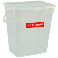 Plast team pojemnik na proszek 6l/5058 fiolet transparentny