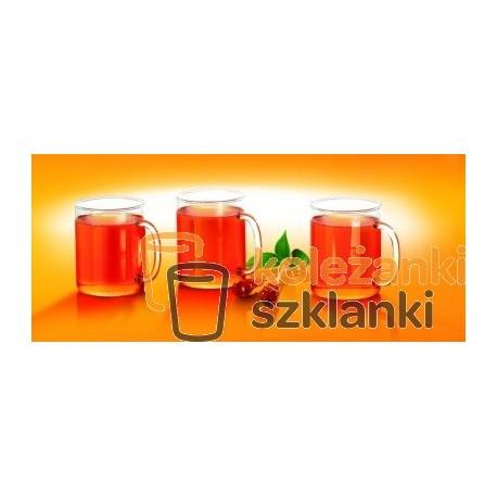 Kubki żaroodporne proste 0,4 l. 3 szt. CKSP040C