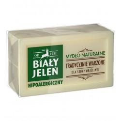 biały jeleń mydło naturalne 150g