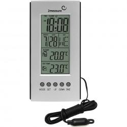 TERmometr elektroniczny zewn+wewn 170109