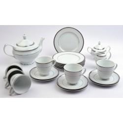 1043 serwis do herbaty 6/15 Dinaro Platin