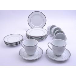 1043 zestaw do herbaty 6/12 Dinaro Platin