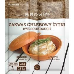 zakwas chlebowy orkiszowy z drożdżami 23g