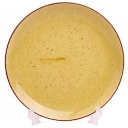 Talerz płytki deserowy żółty 20,5 cm Boss 6630J/12 Lubiana