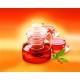 Dzbanek całoszklany prosty 1,5 l. zaparzacz + podgrzewacz Termisil CDSP150F