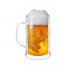 Kufel do piwa z podwójną ścianką 500 ml AMO 1228 VIALLI DESIGN